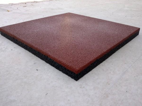 Резиновая плитка Укрплит, толщина 20 мм, , 500*500 мм