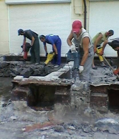 Резка бетона. Демонтаж железобетонных;Демон таж зданий;Демонтаж зданий 237-01-40 и сооружений;Демонтаж здания
