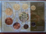 Годовые наборы обиходных монет Украины