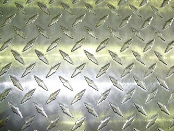 Рифленые алюминиевый листы Квинтет Чечевица АДОН ГОСТ порезка.