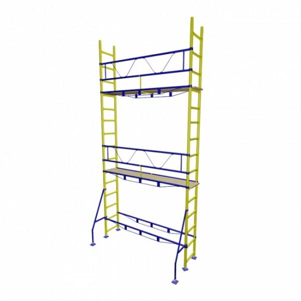 Риштування будівельні клиново-хомутового типу