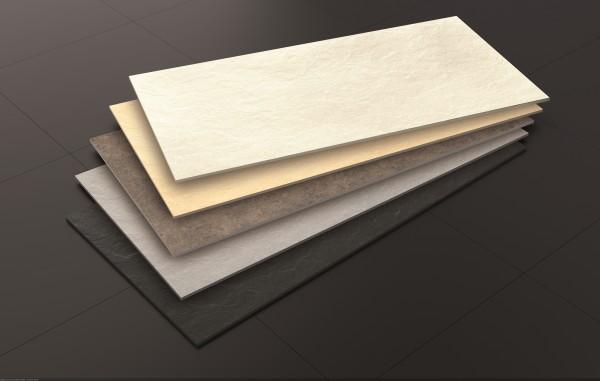 Riverstone White 60x120 рельеф, прокрас по всей толщине. Имитация речного камня