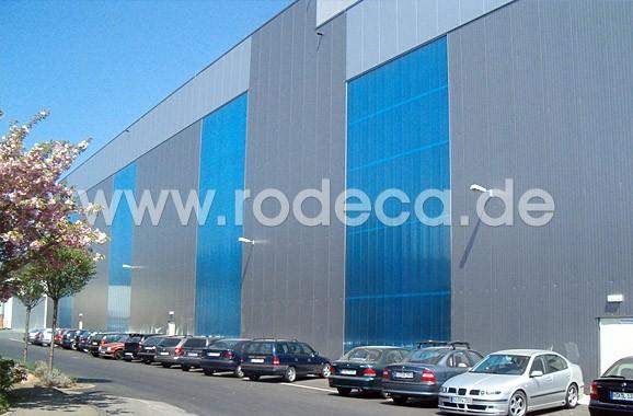 RODECA - многофункциональные панели из сотового многослойного поликарбоната с замковым креплением.