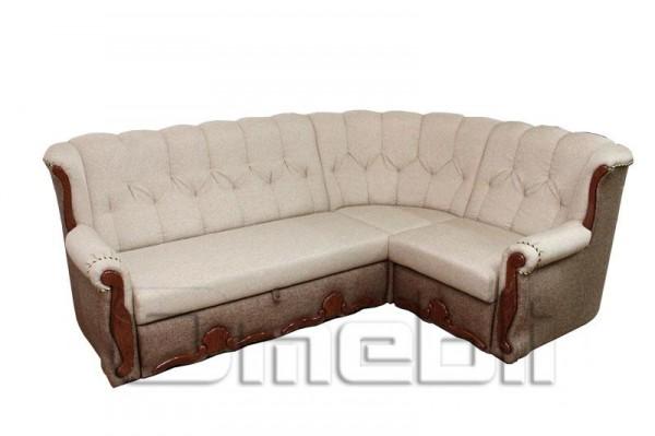 Роксана Угловой диван ткань черва 2/1 и черва 2/2 Код A101334
