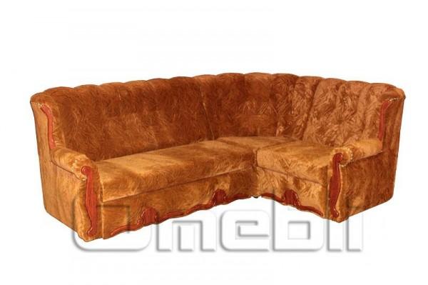 Роксана Угловой диван ткань Отом очис браун Код A101328