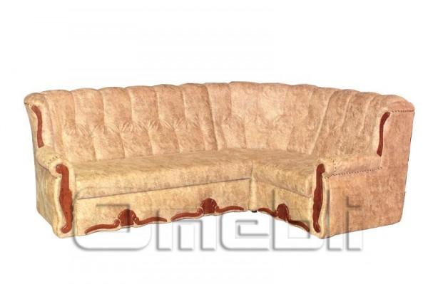 Роксана Угловой диван ткань Торос крем Код A101329