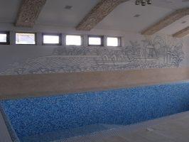 роспись стен в бассейнах
