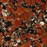 Rosso Santiago, гранит Капустянского месторождения толщ. 30 мм