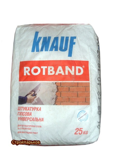 Knauf штукатурка Ротбанд