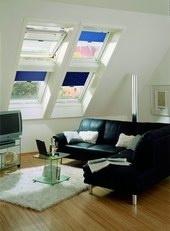 Roto. Мансардные окна применяются для освещения мансардного помещения, а также для комфортного обзора окружающей среды.