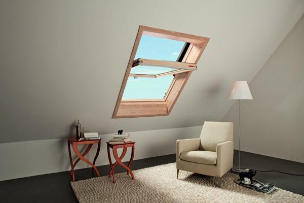 Мансардное окно ROTO Designo R45 94см х 118 см дерево