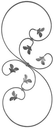 Розета 21.116 (12 х 6 [мм]; 860 х 350 [мм])