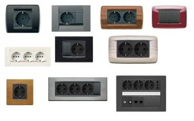 Розетки выключатели Vimar /Италия/. Умный дом, полный функционал, видеодомофония.