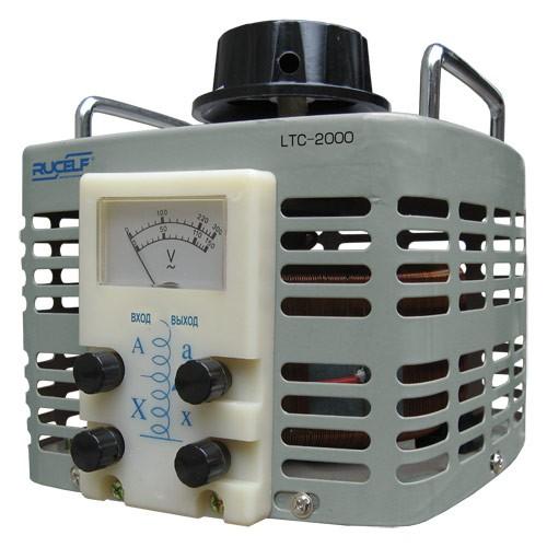 Лабораторные автотрансформаторы RUCELF LTC 1-ф 0.5kVA-30.0kVA