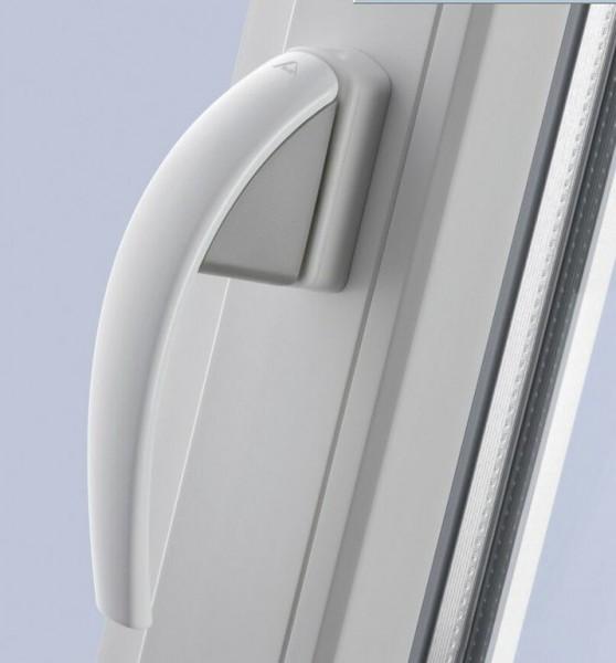 Ручка оконная ROTO SWING. Интересный дизайн, цвет белый, коричневый, золото, серебро, бронза