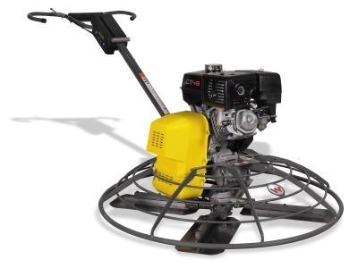 Ручная затирочная машина с бензиновым приводом CT 36-5A. Мощность привода, кВт 4,1; Рабочая масса, кг 85;