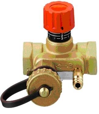 Ручной запорно - измерительный клапан USV-I 15, DANFOSS