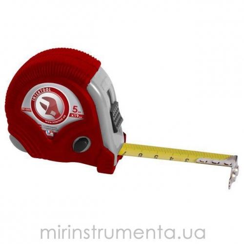 Рулетка с фиксатором INTERTOOL MT-0303