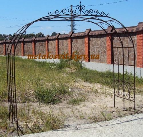 садовые арки ковка, минимальный заказ от 200 долл.