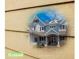 Фото 1 Фасад будинку - фіброцементний сайдинг Cedar - елітні матеріали 329609