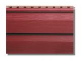 Фото  1 Сайдинг акриловый Альта-Профиль KANADA Плюс Премиум двухпереломный 3660х230х11 мм красный 2035173