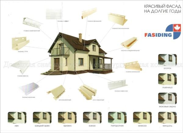 Сайдинг - Фасадные панели FASIDING