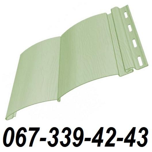 Сайдинг FineBer Фисташковый (Зеленый) (блокхаус, бревно) 0,85 м2
