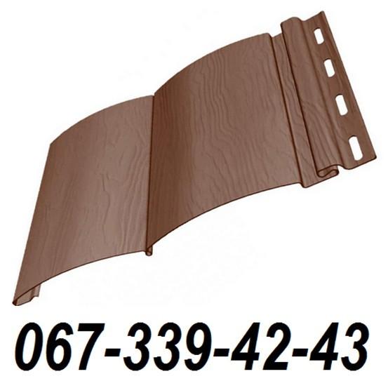 Сайдинг FineBer Могано (блокхаус, бревно) 0,85 м2