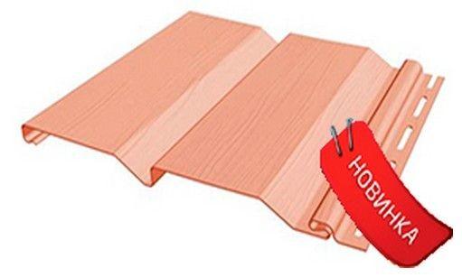 Сайдинг FineBer Стандарт Фламинго 0,75 м2