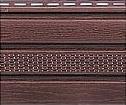 Сайдинг Софит для подшивки кровель, коричневый с перфорацией и без, размеры: 3000х230х1,2мм