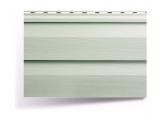 Фото  1 Сайдинг виниловый Альта-Профиль Alta-Siding двухпереломный 3660х230х11 мм серо-зеленый 2035187