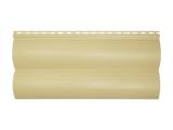 Фото  1 Сайдинг виниловый Альта-Профиль BlockHouse Slim двухпереломный 3660х230x11 мм песочный 2035169