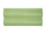 Фото  1 Сайдинг виниловый Альта-Профиль BlockHouse Slim двухпереломный 3660х230x11 мм оливковый 2035170