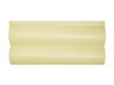 Фото  1 Сайдинг виниловый Альта-Профиль BlockHouse Slim двухпереломный 3660х230x11 мм кремовый 2035193