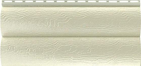 Сайдинг виниловый Альта-Профиль серия Blockhaus под брус двухпереломный
