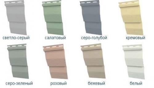 Сайдинг виниловый в Харькове. Цена 95грн. за панель. Расчет комплектующих. Доставка.