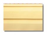 Фото  1 Сайдинг виниловвй Альта-Профиль KANADA Плюс Престиж двухпереломный 3660х230х11 мм желтый 2035178