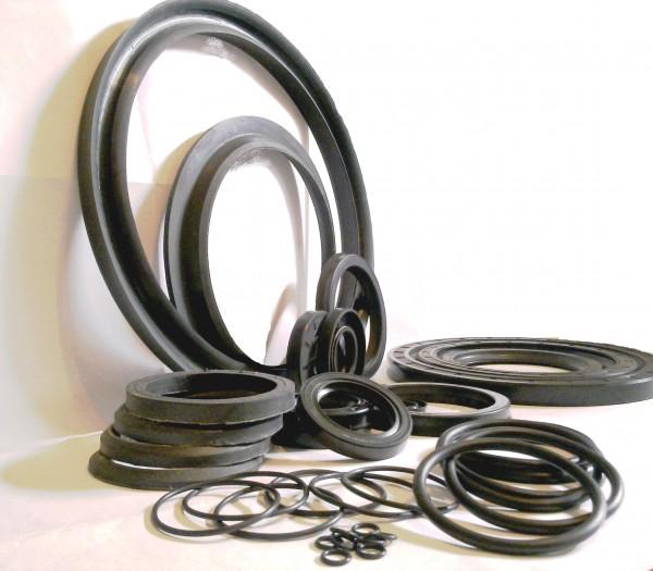 Сальники, кольца, уплотнения, кольца и втулки МУВП, гидравлические и пневматические, шевронные манжеты.