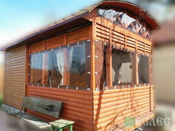 Фото 1 Мягкие окна: Шторы для беседок и веранд, террас, летних кафе, дачи 327638