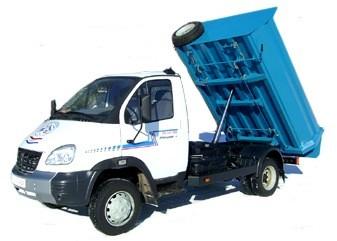 Самосвальные перевозки 1,5 тонн