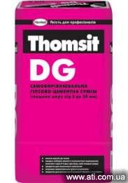 Самовыравнивающаяся гипсово цементная смесь Томзит дг Thomsit DG Харьков