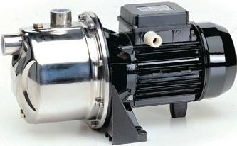 Самовсасывающие эжекторные из нержавеющей стали насосы Saer, серия М94, М97, М99, М600, М700