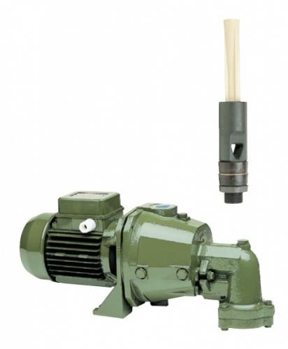 Самовсасывающие насосы Saer с выносным эжектором и повышенной глубиной всасывания, серия М92, М102, М202, М90.