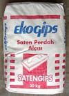 SAТENGIPS Екогіпс, 30кг Шпаклівка гіпс. Турція