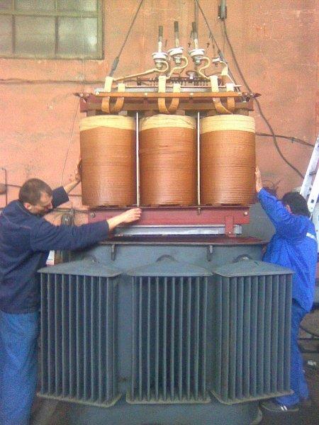Фото 3 Ремонт силовых трансформаторов, марка ТМ; ТМГ; ТМЗ 25-1000 кВ.А 338893