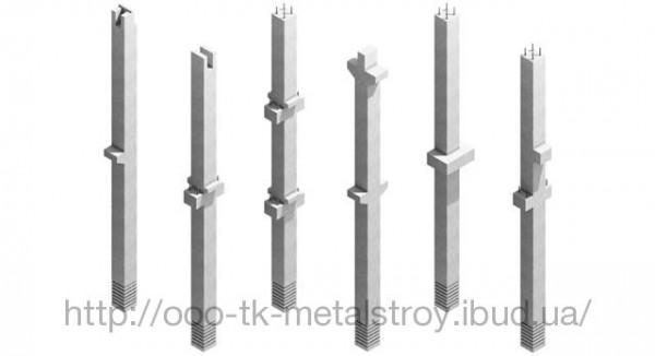 Сборная железобетонная колонна 500*500 мм