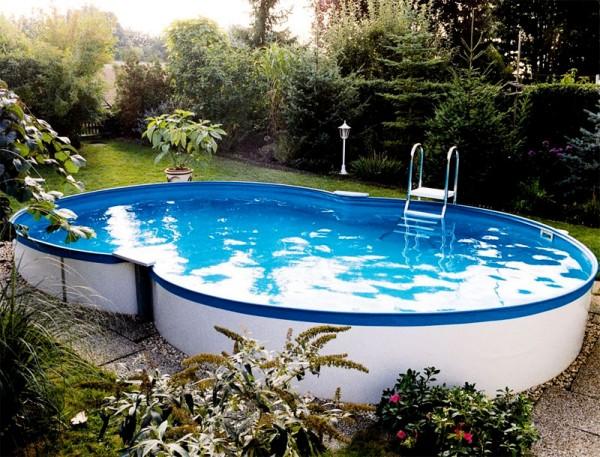 Сборно-каркасный бассейн (в виде восьмерки) Summer Fun 3,60х6,25х1,20 м