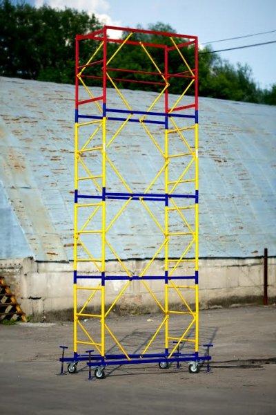 Фото  1 Сборно-разборная вышка 1.2х2.0 м для отделочных работ на высоте. Цена от 1921496