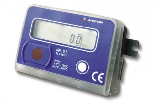 Счетчики тепла LQM-III Ду15-Ду300, тахометрического типа.