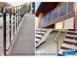 Фото  4 Поручни, перила, лестницы нержавейка Цена 2250 грн. за метр 44882